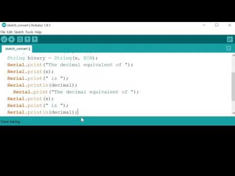 Arduino101-3 Simple number conversion with String