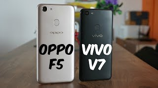 OPPO F5 vs Vivo V7 Comparison - Which is the better phone?