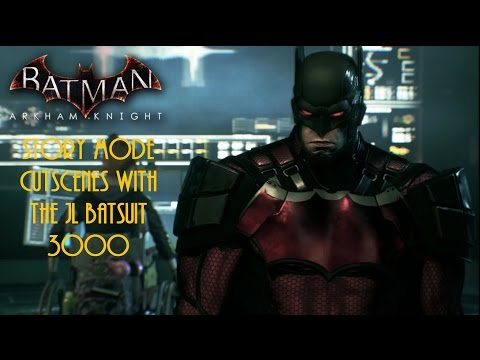 Batman Arkham Knight: Story Mode Cutscenes with the JL Batsuit 3000
