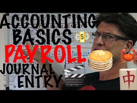 Accounting for Beginners #53 / Payroll Journal Entry / Payroll Taxes / Accounting Basics