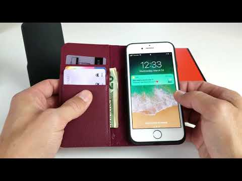 Zover Genuine Leather Wallet Case for iPhone 8/7 Review