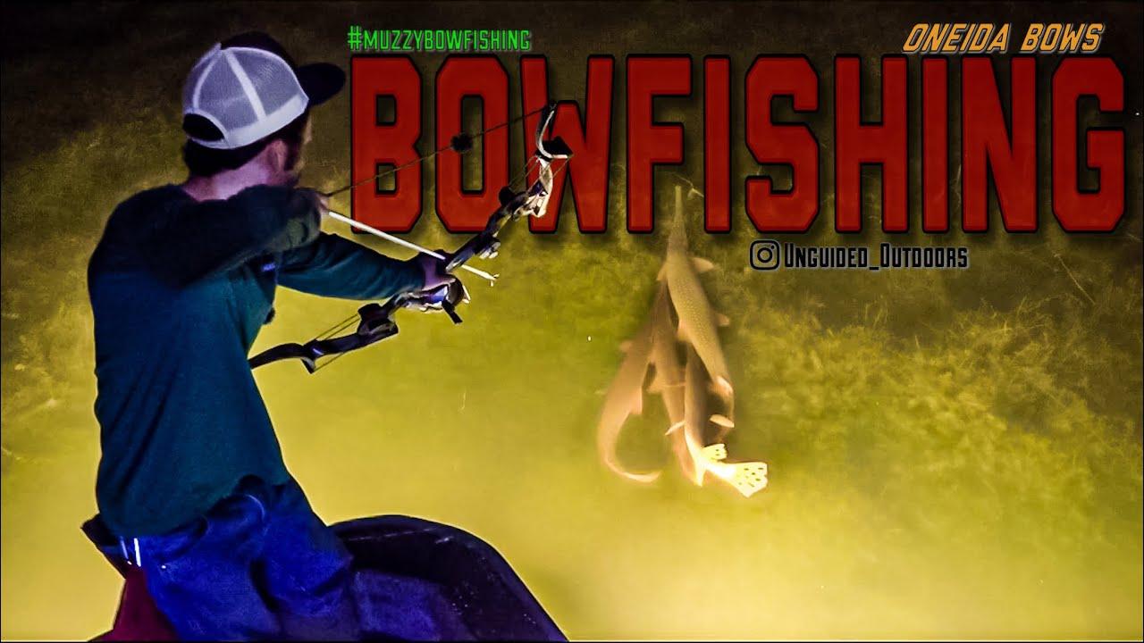 The Gar Spawn and Huge Buffalo- Bowfishing