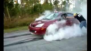 Ford Focus Burnout