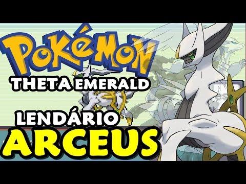 Pokémon Theta Emerald (Detonado - Parte 43) - Arceus, Zekrom e Reshiram