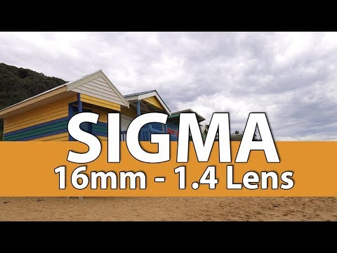Testing the Sigma 1.4 Sony lens 16mm is this the best lens?