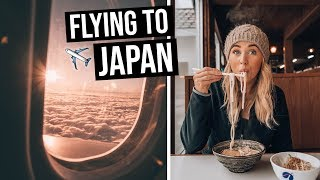 Download Flying from Australia to Japan on Qantas | LOTS of FLYING Video