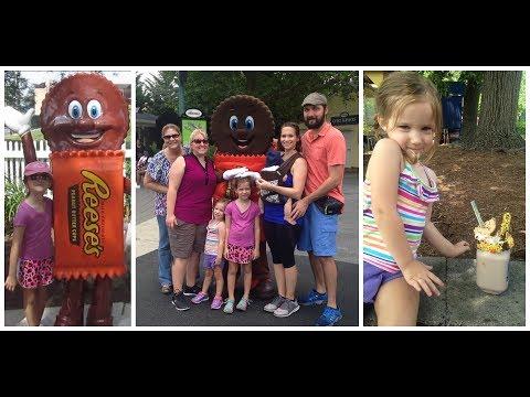 Hershey Park Adventure! 🍫 Theme Park!