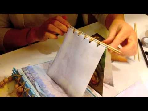Craft Ideas - How to Make a Scrapbook - JamieMalden