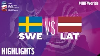Sweden vs. Latvia - Game Highlights