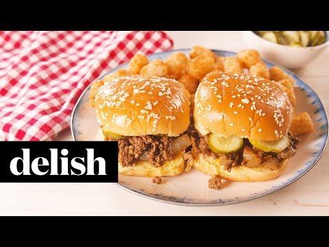 Roseanne's Loose Meat Sandwich | Delish