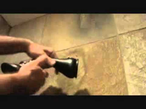 How to repair a leaking shower head arm...Part 2