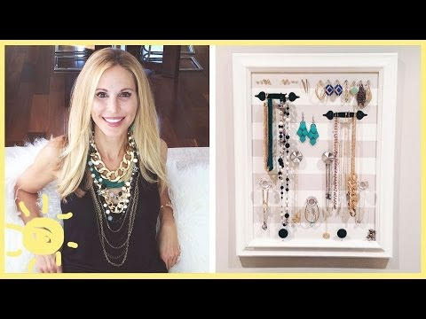 DIY | Jewelry Organizer (Cute and Easy!!)