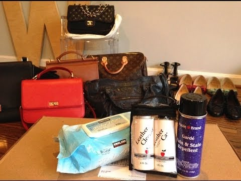 Diy Leather Bags Shoes Care With Le Brand Products