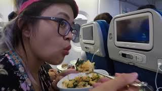 Flight to Philippines
