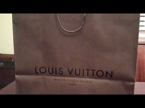 My First Louis Vuitton Haul/Unboxing