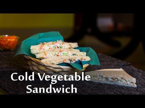 Vegetable Sandwich Recipe   Hung Curd And Mayonnaise Sandwich   Coleslaw Sandwich   Boldsky