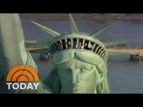 TODAY Broadcasts From Statue Of Liberty Crown | Archives | TODAY