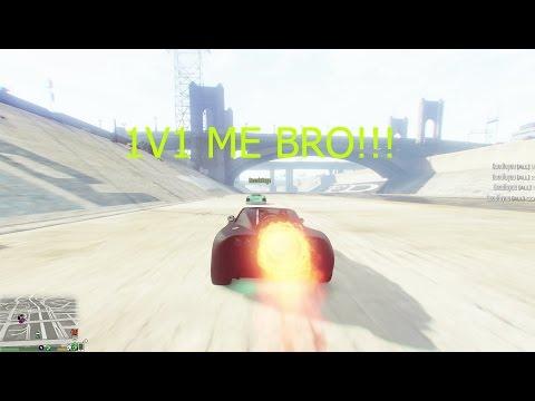 Ramp Buggy vs Rocket Voltic (GTAV)