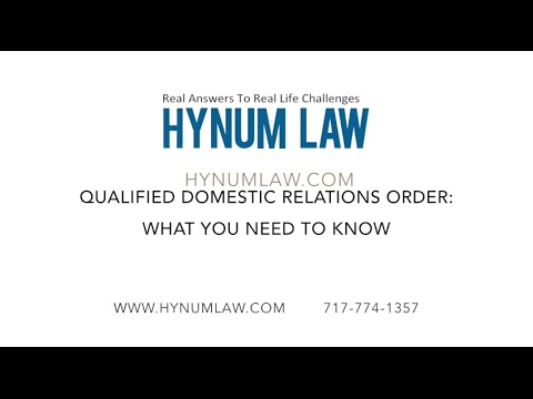 Qualified Domestic Relations Order: What You Need to Know