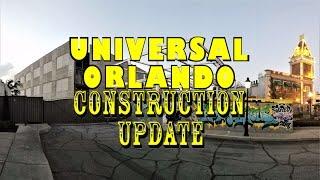 Universal Orlando Resort Construction Update 1.2.17 FEELING FURIOUS AGAIN!!!