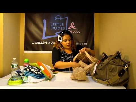 Storksak Olivia VS Elizabeth Diaper Bag