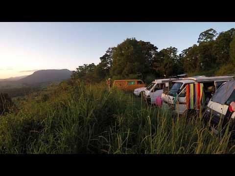 Cliff Diving in Yamba [GoPro] / Sunset Nimbin / Work and Travel Australia 2014/15 #17