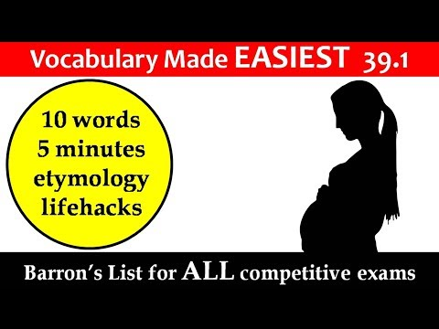 vocabulary made EASIEST 39.3 LEARN etymology by puneet biseria