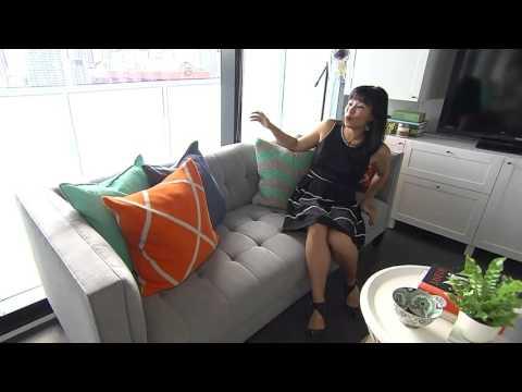 Tour of Pay Chen's tiny Toronto condo