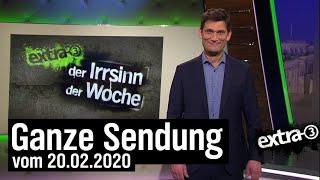 Extra 3 Vom 20022020 Mit Christian Ehring Im Ersten Extra 3 NDR