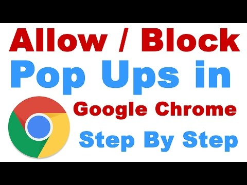 How to Allow / Block Pop Ups on Google Chrome Browser (Stop Unwanted Ads / Spam)