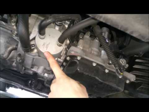 2012+ Mazda 5 transmission oil change and addition of the tranny filter