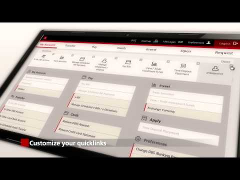 The All-New DBS iBanking Service Introduction