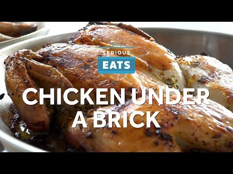 How to Make Crispy Chicken (Under A Brick)