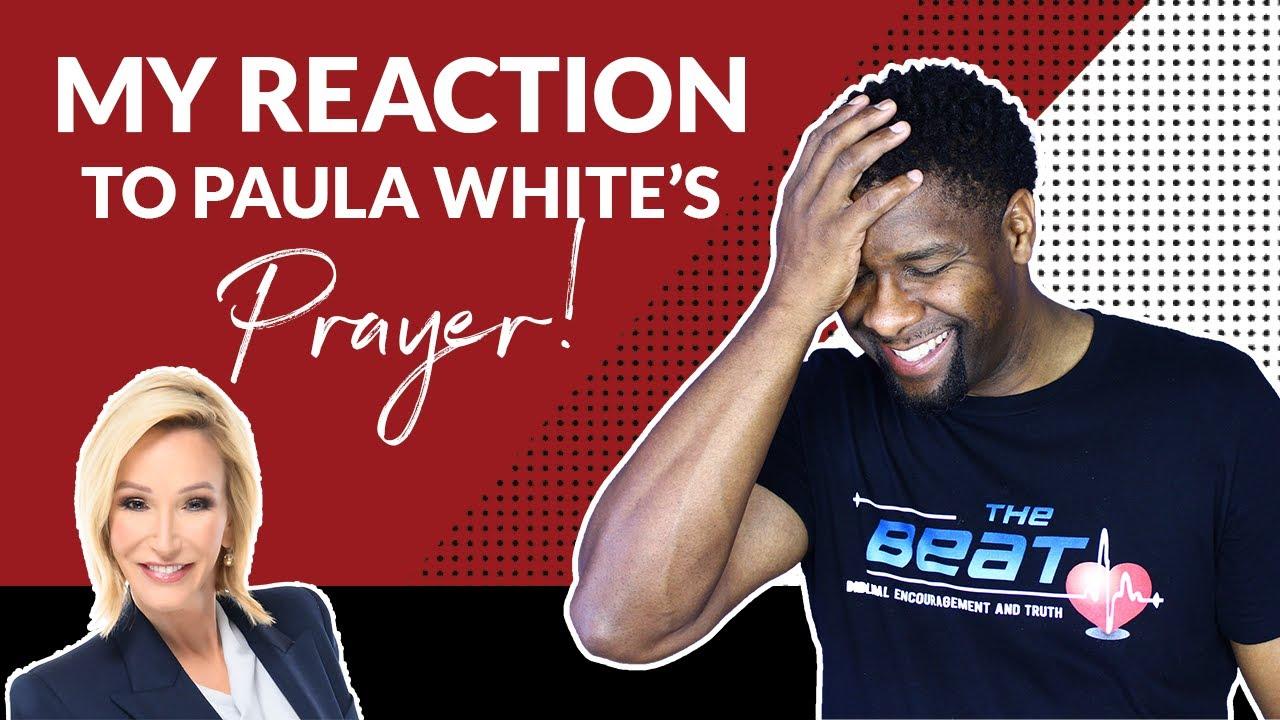 MY REACTION TO PAULA WHITE'S PRAYER SERVICE!