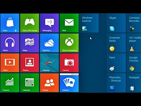 How to Change the Icons of Metro Tiles in Windows 8