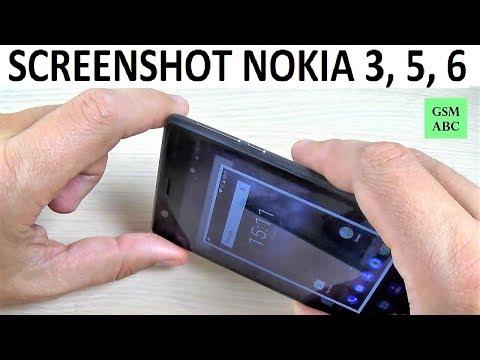 How to Take a Screenshot on NOKIA 2, 3, 5, 6 (2017)