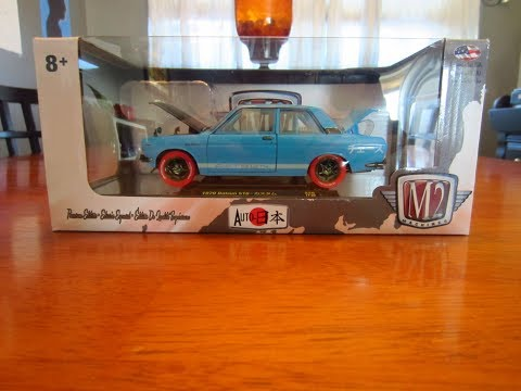 New M2 Machines 1/24 Scale Datsun 510 S26 Chase!!!