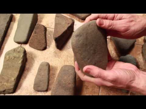 Indian stone tools Indian artifacts, how to identify ancient stone tools, axes pecking and grinding
