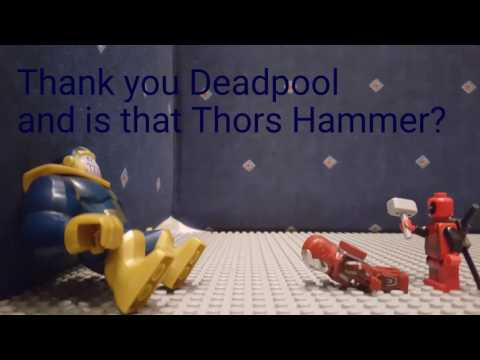 LEGO Deadpool part 1