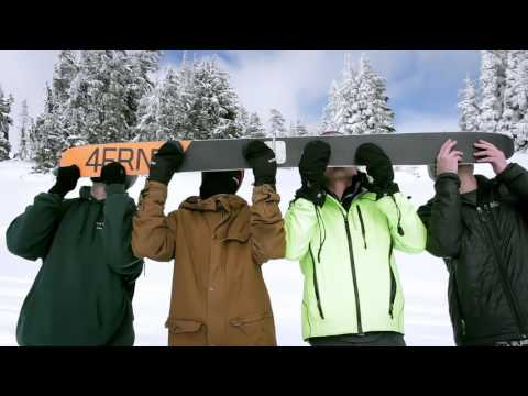 Testing the Folding Shot Ski