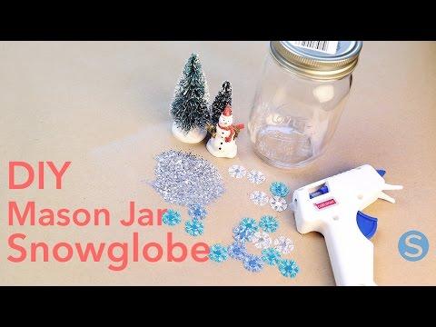 DIY Mason Jar Snowglobes: How To Make This Craft | Simplemost