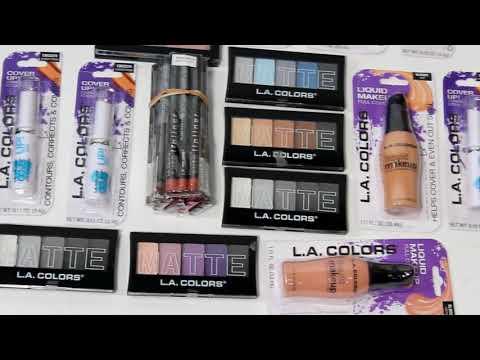 Wholesale Mixed L.A. Colors Cosmetics Box