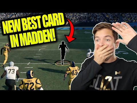 *BEST* NEW 99 OVERALL IN THE GAME!! MADDEN 18 ULTIMATE TEAM