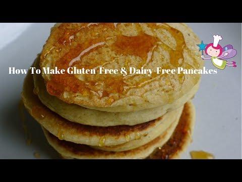 How To Make Gluten-Free And Dairy-Free Pancakes: a glutenfree, dairyfree pancake recipe.