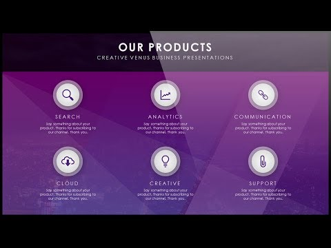How To Create OUR PRODUCTS Presentation Slide in Microsoft Office PowerPoint PPT