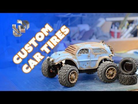 3D Printing Custom Tires for my R/C Car - Prop: 3D