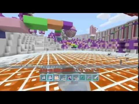 stampylongnose Minecraft Xbox Candy Land Hunger Games