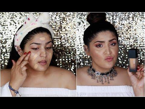 HUDA Beauty Faux Filter Foundation | So Much Coverage! | Shreya Jain
