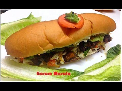 Fried chicken sandwich Kerala Version