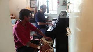 Anilum Naanum - Casual (aka poor audio) jam with the one and only Anil Srinivasan